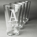 Name & Initial Beer Glasses (Personalized)
