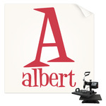 Name & Initial Sublimation Transfer (Personalized)