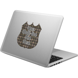 Multiline Text Laptop Decal (Personalized)