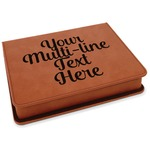 Multiline Text Leatherette 4-Piece Wine Tool Set (Personalized)