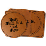 Multiline Text Leatherette Patch (Personalized)