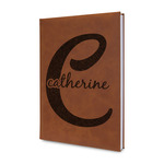 Name & Initial (Girly) Leatherette Journal (Personalized)