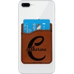 Name & Initial (Girly) Leatherette Phone Wallet (Personalized)