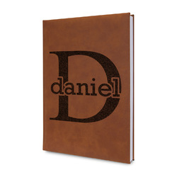 Name & Initial (for Guys) Leatherette Journal (Personalized)