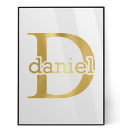 Name & Initial (for Guys) Foil Print (Personalized)