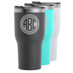 Round Monogram RTIC Tumbler - 30 oz (Personalized)
