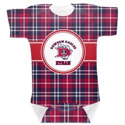 Dawson Eagles Plaid Baby Bodysuit (Personalized)