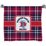 Dawson Eagles Plaid Full Print Bath Towel (Personalized)
