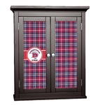 Dawson Eagles Plaid Cabinet Decal - Custom Size (Personalized)