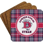 Dawson Eagles Plaid Coaster Set (Personalized)