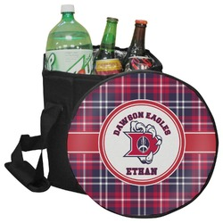 Dawson Eagles Plaid Collapsible Cooler & Seat (Personalized)