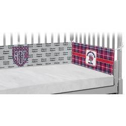 Dawson Eagles Plaid Crib Bumper Pads (Personalized)