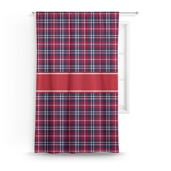Dawson Eagles Plaid Curtain (Personalized)