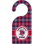 Dawson Eagles Plaid Door Hanger (Personalized)