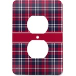 Dawson Eagles Plaid Electric Outlet Plate (Personalized)