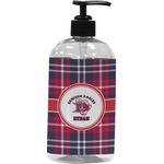 Dawson Eagles Plaid Plastic Soap / Lotion Dispenser (Personalized)