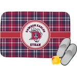 Dawson Eagles Plaid Memory Foam Bath Mat (Personalized)