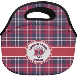 Dawson Eagles Plaid Lunch Bag (Personalized)