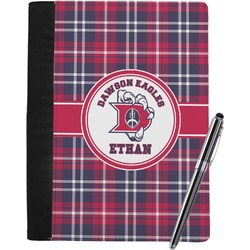 Dawson Eagles Plaid Notebook Padfolio (Personalized)