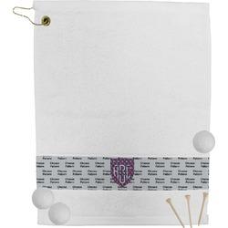 Dawson Eagles Plaid Golf Towel (Personalized)