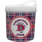 Dawson Eagles Plaid Plastic Ice Bucket (Personalized)