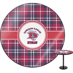 Dawson Eagles Plaid Round Table (Personalized)