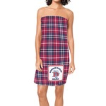 Dawson Eagles Plaid Spa / Bath Wrap (Personalized)