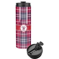 Dawson Eagles Plaid Stainless Steel Tumbler (Personalized)