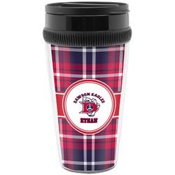 Dawson Eagles Plaid Travel Mug (Personalized)