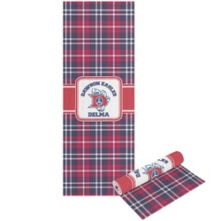 Dawson Eagles Plaid Yoga Mat - Printable Front and Back (Personalized)