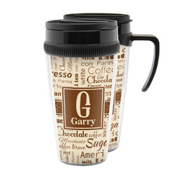 Coffee Lover Acrylic Travel Mugs (Personalized)