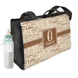 Coffee Lover Diaper Bag (Personalized)