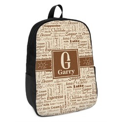 Coffee Lover Kids Backpack (Personalized)