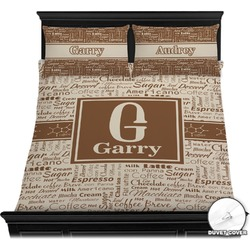Coffee Lover Duvet Covers (Personalized)