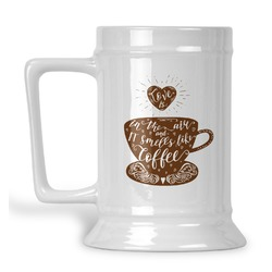 Coffee Lover Beer Stein (Personalized)