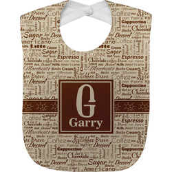 Coffee Lover Baby Bib (Personalized)