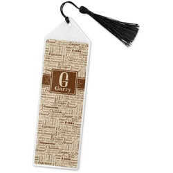 Coffee Lover Book Mark w/Tassel (Personalized)