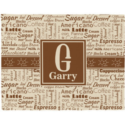 Coffee Lover Placemat (Fabric) (Personalized)