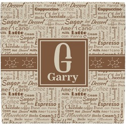 Coffee Lover Ceramic Tile Hot Pad (Personalized)