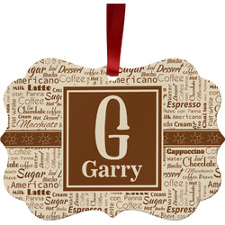 Coffee Lover Ornament (Personalized)