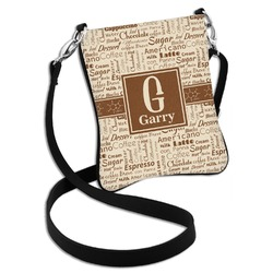 Coffee Lover Cross Body Bag - 2 Sizes (Personalized)