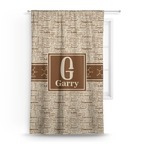 Coffee Lover Curtain (Personalized)