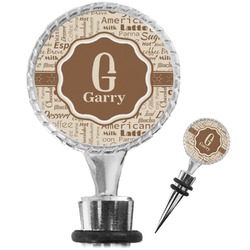 Coffee Lover Wine Bottle Stopper (Personalized)