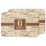 Coffee Lover Dish Drying Mat (Personalized)