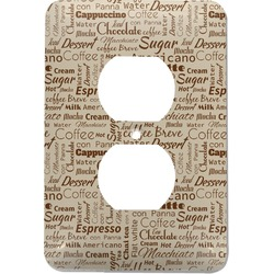 Coffee Lover Electric Outlet Plate (Personalized)