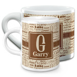 Coffee Lover Espresso Cups (Personalized)