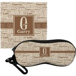 Coffee Lover Eyeglass Case & Cloth (Personalized)