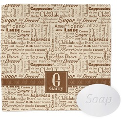 Coffee Lover Wash Cloth (Personalized)
