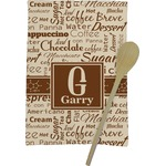 Coffee Lover Kitchen Towel - Full Print (Personalized)