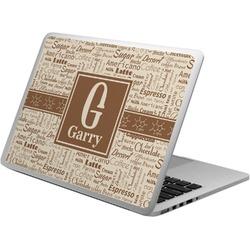 Coffee Lover Laptop Skin - Custom Sized (Personalized)